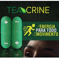 Teacrine 100mg - 60 cápsulas